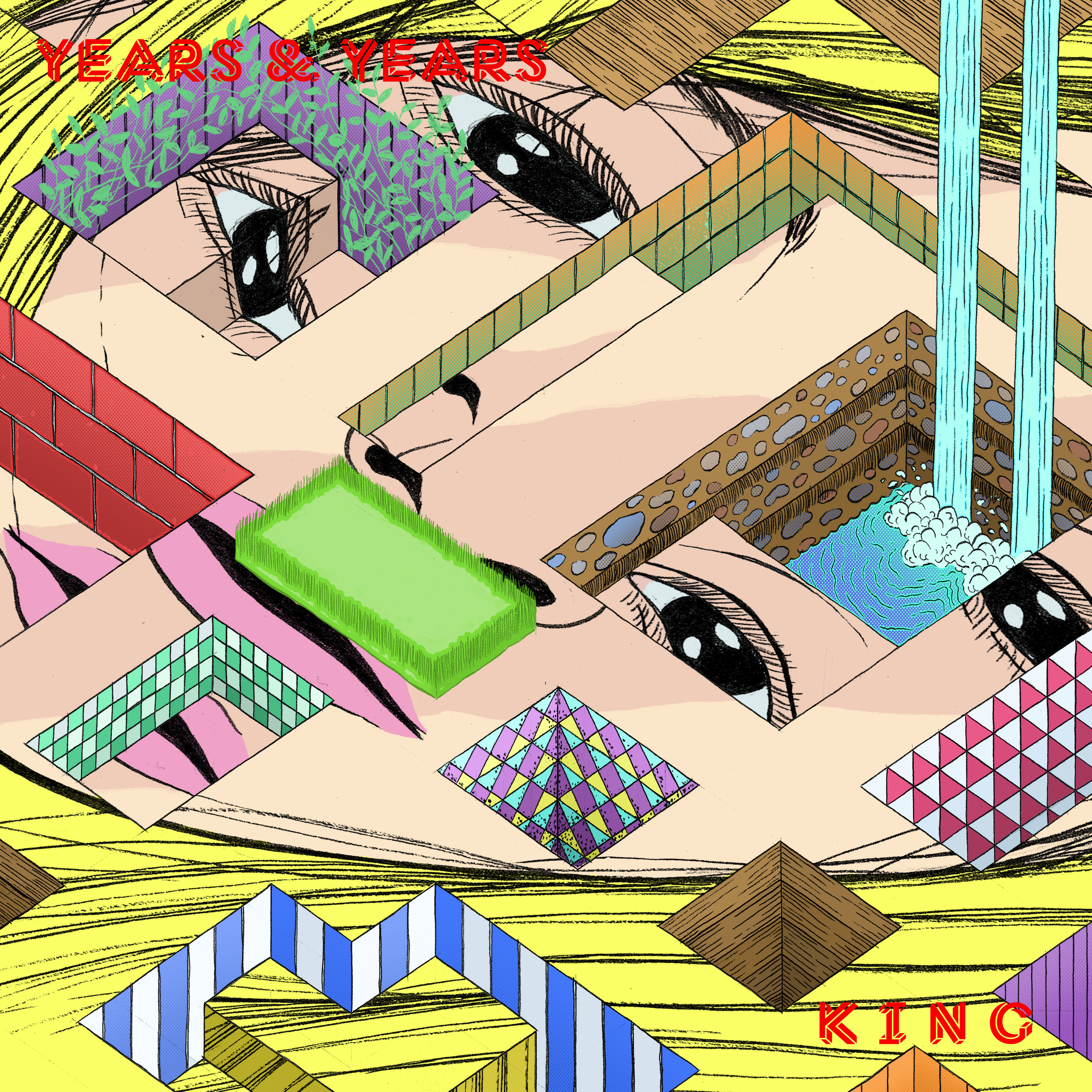 """Years & Years – """"King (TCTS Remix)"""" (Stereogum Premiere)"""
