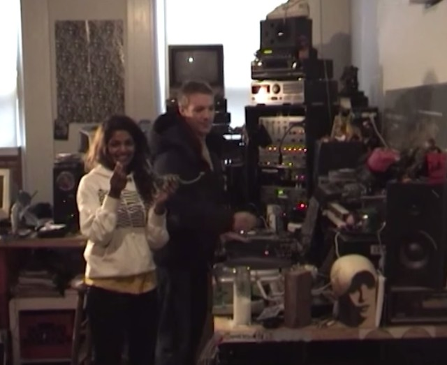 M.I.A. and Diplo