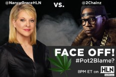 Nancy Grace and 2 Chainz