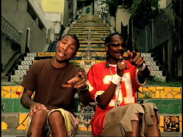 Pharrell and Snoop Dogg