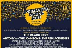 Primavera Sound 2015 Lineup