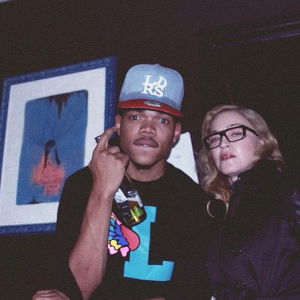 Chance The Rapper & Madonna