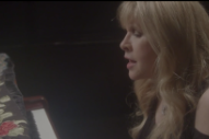"Watch Stevie Nicks Play A Somber Solo Piano Version Of ""Blue Water"""