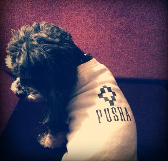 Pusha T CJ Thornton Instagram