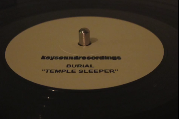 "Burial - ""Temple Sleeper"""