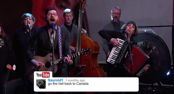 Watch The Decemberists Sing YouTube Comments On Jimmy Kimmel Live!