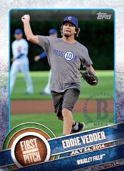 Eddie Vedder Baseball Card