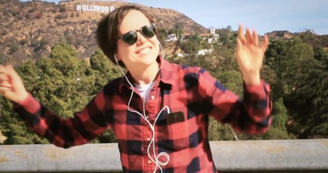 Ellen Page Sings Sleater-Kinney
