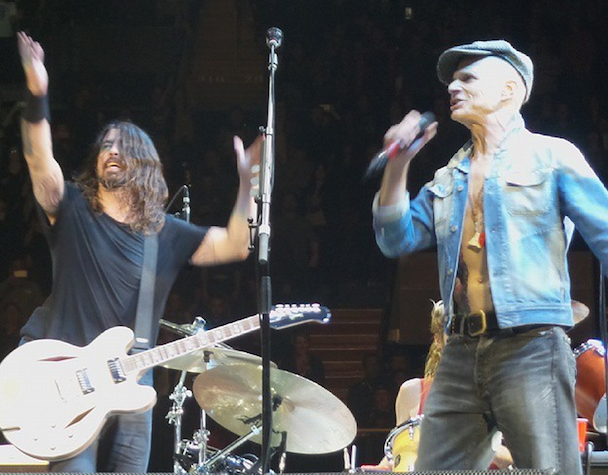 Watch A Shaven-Head David Lee Roth Sing Van Halen Songs With Foo Fighters In L.A.