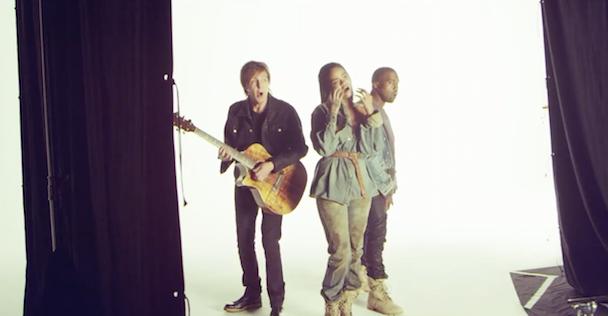 Watch Rihanna, Kanye, & Paul M