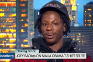 Watch Joey Bada$$ On Bloomberg TV, Of All Places, Discussing The Malia Effect