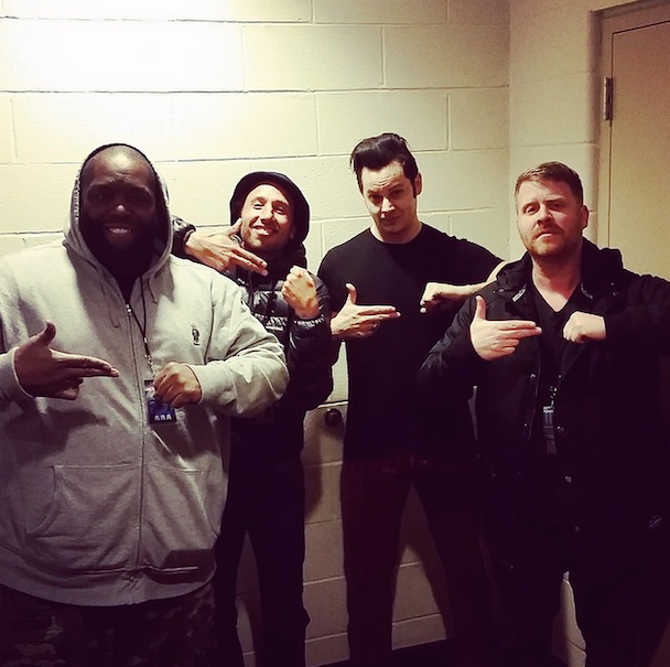 Watch Jack White Perform With Q-Tip At MSG