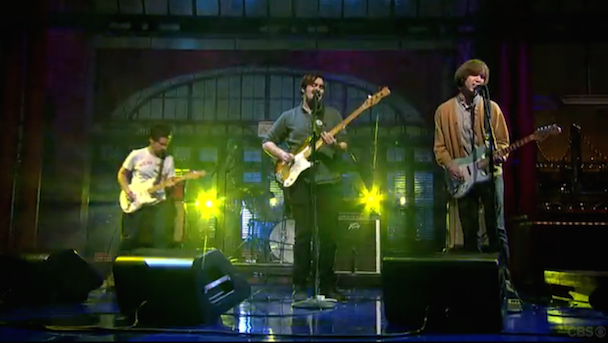 "Watch Parquet Courts Perform ""Bodies Made Of"" On Letterman"