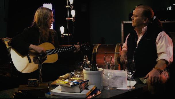 Watch Patti Smith, The Edge, Flea, & Perry Farrell On Mario Batalli's New Web Series Feedback Kitchen