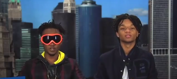 Watch Rae Sremmurd Acting Like Goofballs On ESPN