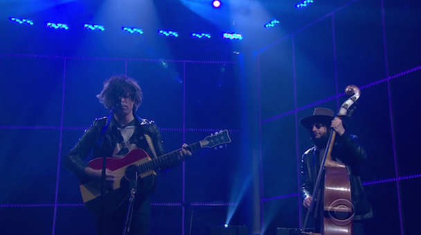 """Watch Ryan Adams Perform """"Gimme Something Good"""" With Don Was On The Late Late Show"""