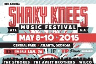 Shaky Knees 2015 Lineup