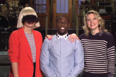 Awkward SNL Promo Confirms It's Time For Sia To Stop Obscuring Her Face