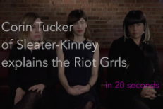 Watch Sleater-Kinney Explain Riot Grrrl In 20 Seconds
