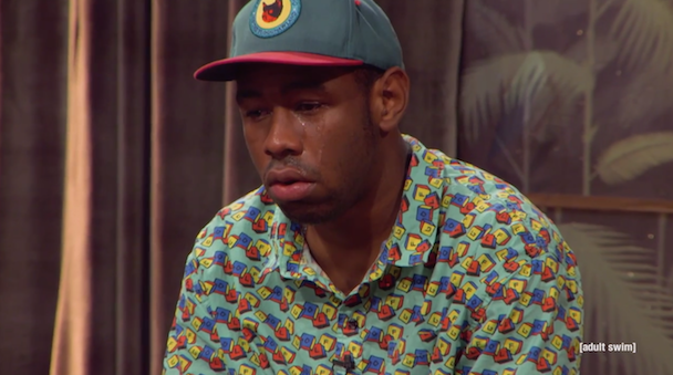 Watch Tyler, The Creator Cry On The Eric André Show