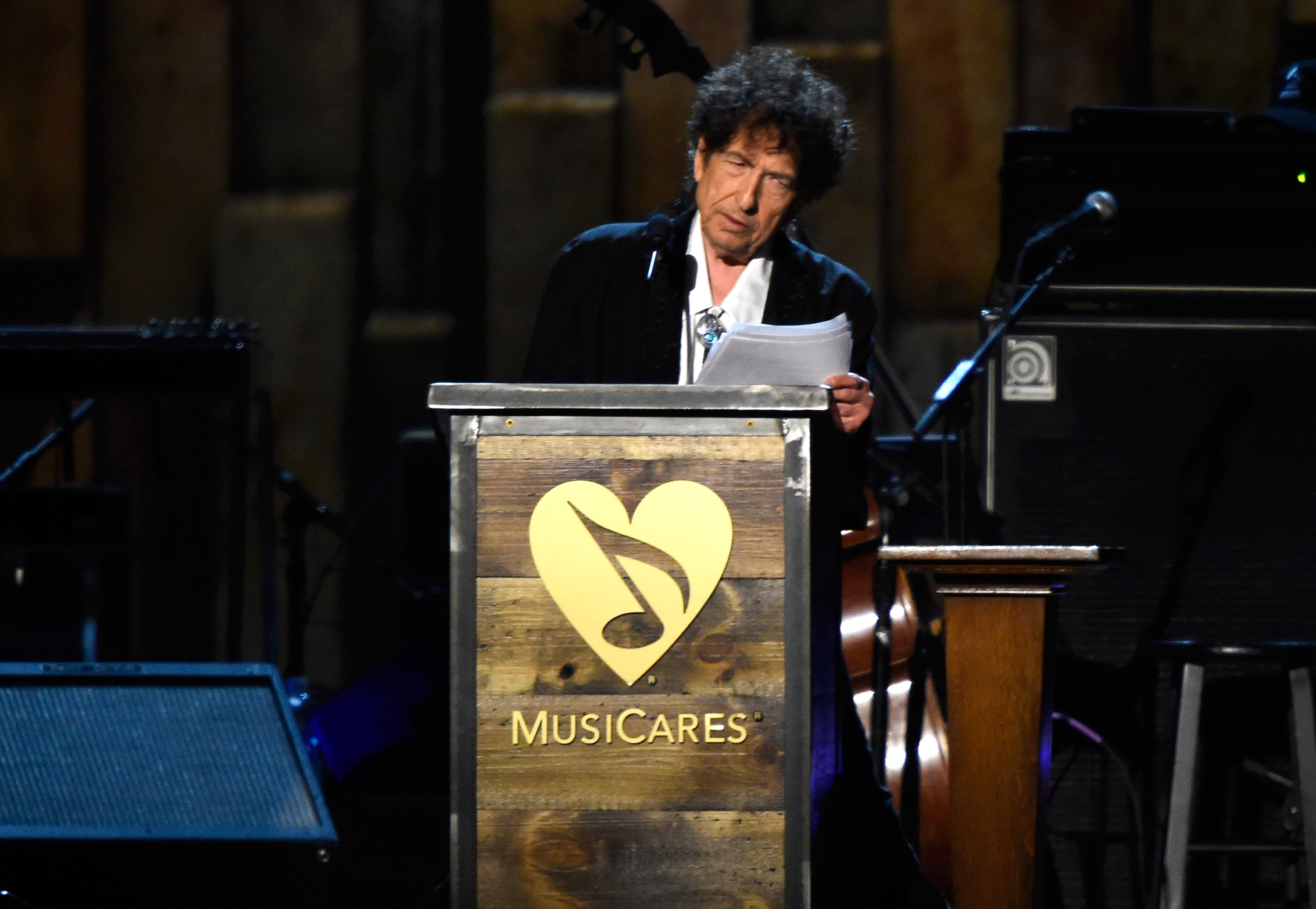 Bob Dylan Downplays Merle Haggard Diss, Praises Springsteen, Maintains That Steely Dan Is Not Rock In MusiCares Postmortem