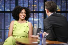 Tracee Ellis Ross Seth Meyers
