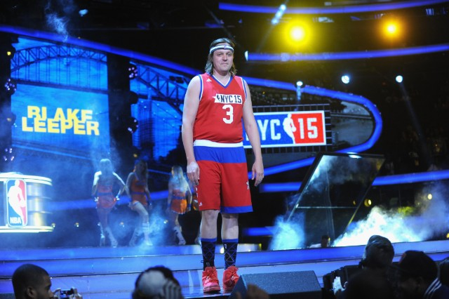 Win Butler @ NBA All-Star Celebrity Game NBA All -Star Weekend 2015