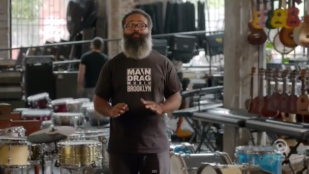 Watch TV On The Radio&#8217;s Kyp Malone As A Brooklyn Music Store Clerk On <em>Broad City</em>