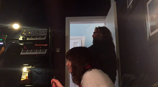 Watch Chvrches Prank Their Manager With A Fake Preview Of Their New Album