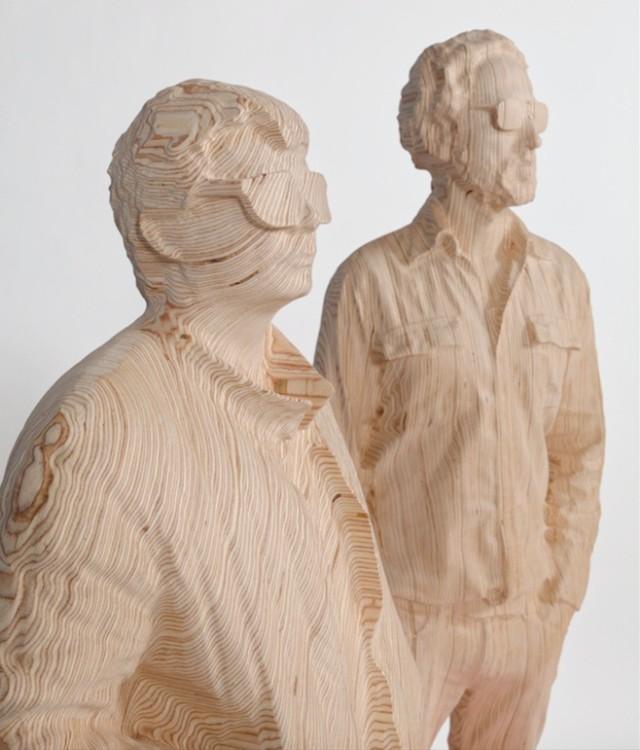 Daft Punk sculpture