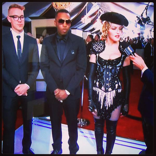 Diplo + Nas + Madonna