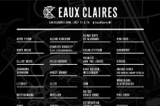 Eaux Claires 2015 Lineup