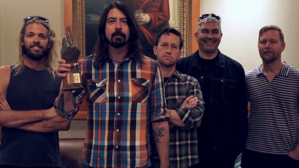 Foo Fighters Headlining Glastonbury 2015