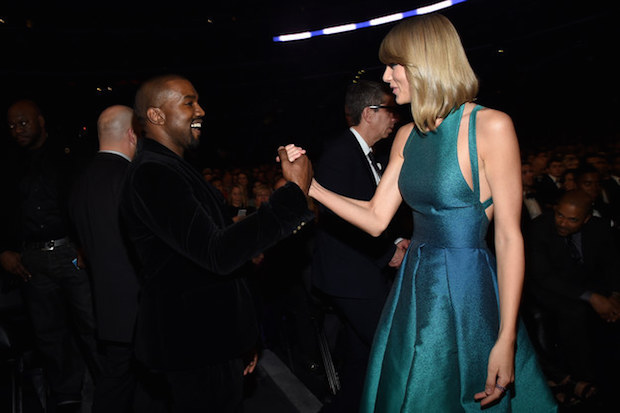 Kanye West Will Record With Taylor Swift, Says She Supported His Grammy Stage Crash