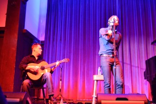 Watch Mark Kozelek Fill In On Guitar For His Broken-Handed Friend Ben Gibbard