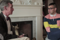 Watch Bill Nye The Science Guy And Jack Antonoff The Bleachers Guy Discuss Rollercoastering