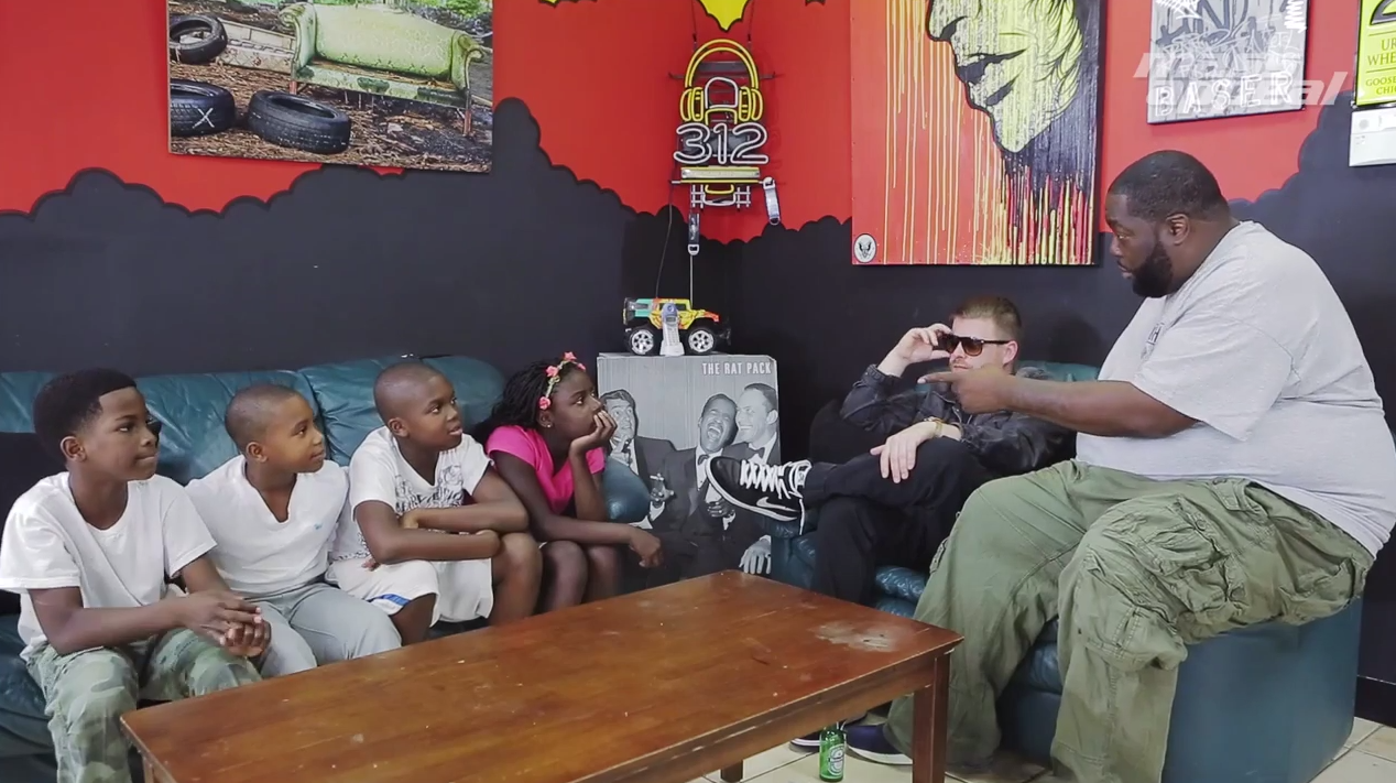 Run The Jewels Barber Shop Talk Kids