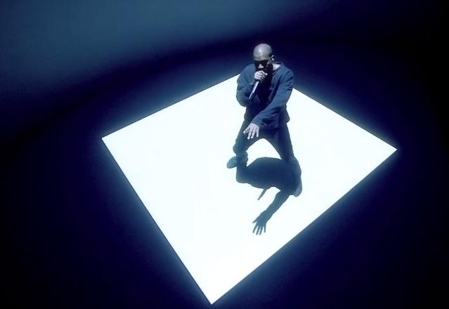 Kanye West Only One Skavlan