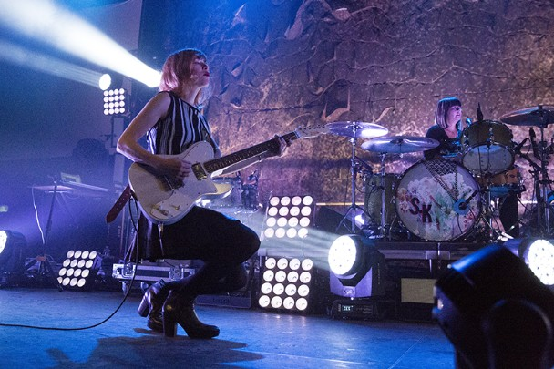 Sleater-Kinney Played Their First Show In 9 Years Last Night