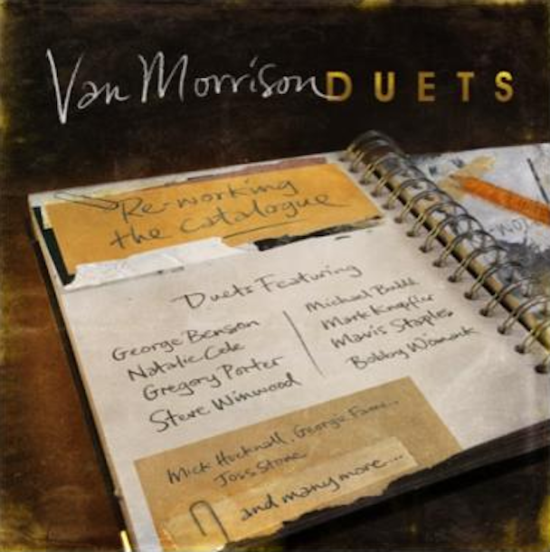 "Hear ""Real Real Gone"" From Van Morrison's New Duets Album"