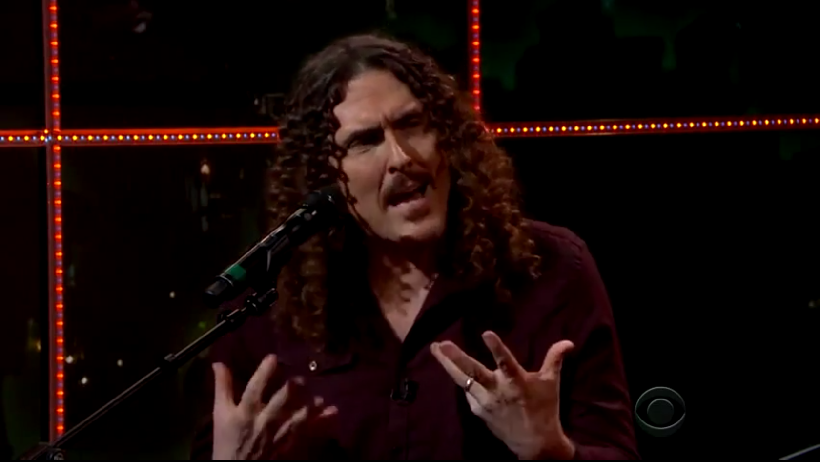 Watch Weird Al &#8220;Cover&#8221; Woody Guthrie On <em>The Late Late Show</em>