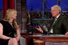 Watch Courtney Love Talk Montage Of Heck, Drugs, & Dave Grohl On Letterman