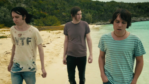 """The Cribs - """"Burning For No One"""" Video"""