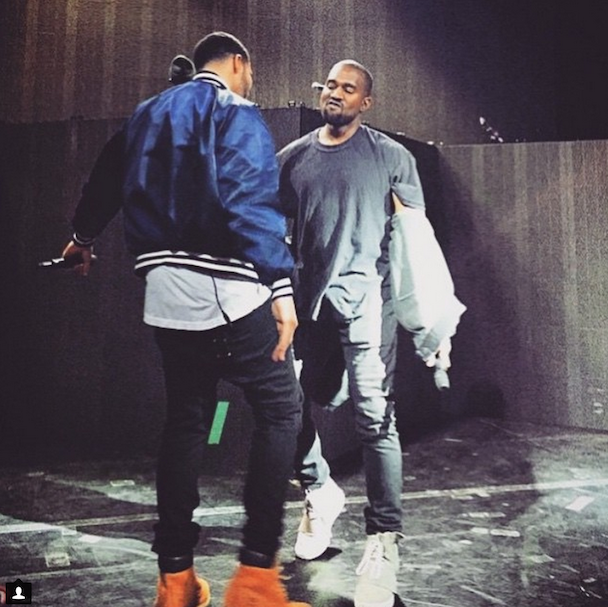 """Watch Drake Cover """"Only One"""" & """"FourFiveSeconds,"""" Bring Out Kanye For """"I Don't Like"""" In NYC"""
