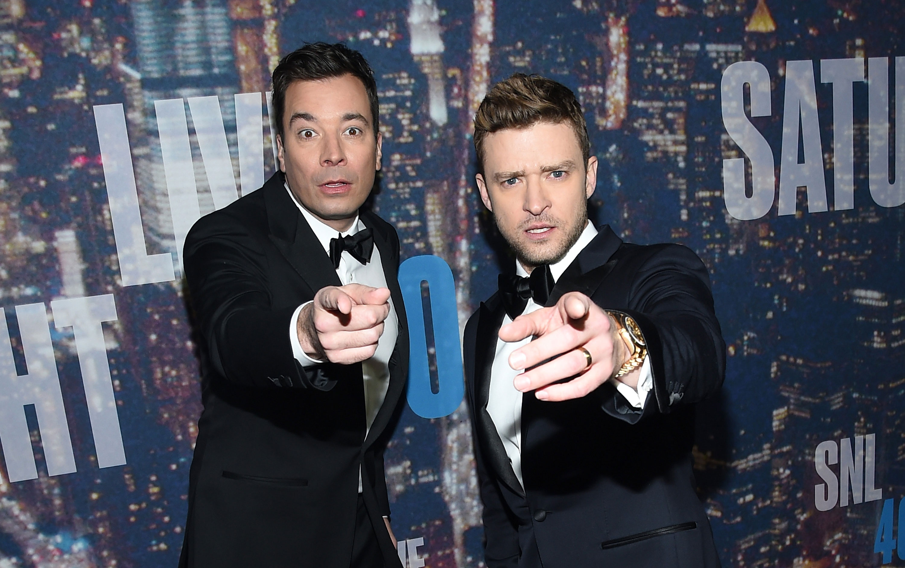 Jimmy Fallon & Justim Timberlake On SNL40