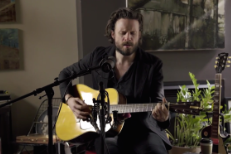 """Watch Father John Misty Cover Leonard Cohen's """"Bird On The Wire"""" On The Strombo Show"""