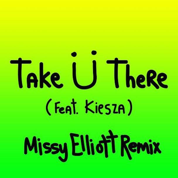 """Jack Ü - """"Take Ü There (Missy Elliott Remix)"""" (Feat. Kiesza)"""