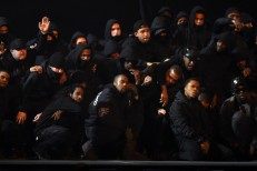 Kanye West Performs On The BRIT Awards
