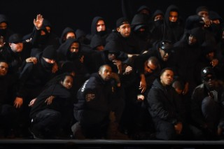 "Watch Kanye West Debut ""All Day"" At The BRIT Awards"