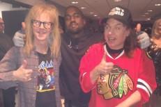 Kanye West With Wayne & Garth